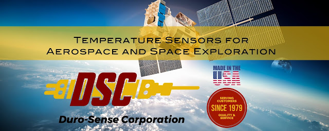 Temperature Sensors for Aerospace and Space Exploration