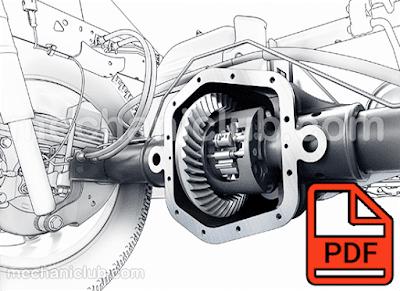تحميل كتاب صيانة كرونة السيارة ( المحور الخلفي ) PDF