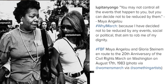 Lupita Nyong'o on why she is marching against Trump's presidency