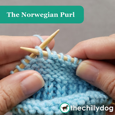 Knitting Tutorial: How to do the Norwegian purl for continental style knitters
