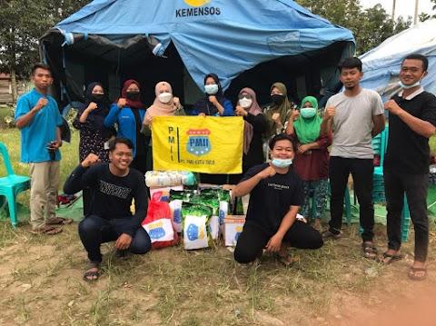 KOPRI PMII Kutim Adakan Aksi Galang Dana Untuk Korban Kebakaran