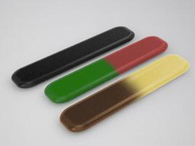 I tre gusti di caramelle Goleador vendute negli anni '90: liquirizia, frutta e cola