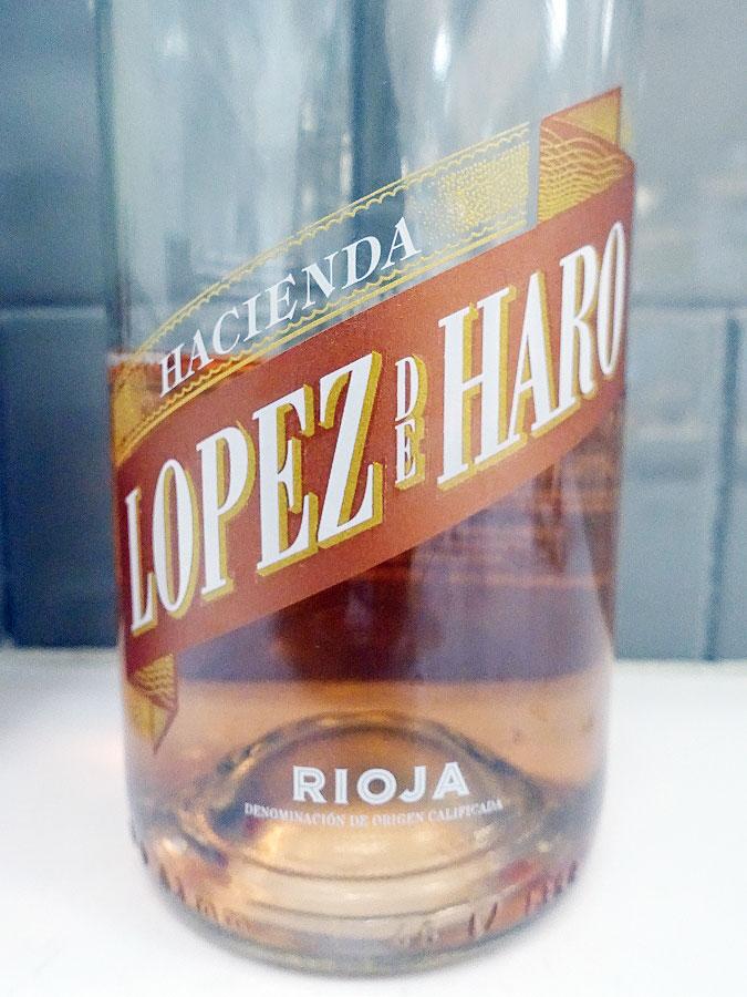 Hacienda Lopez de Haro Rosado 2018 (88 pts)