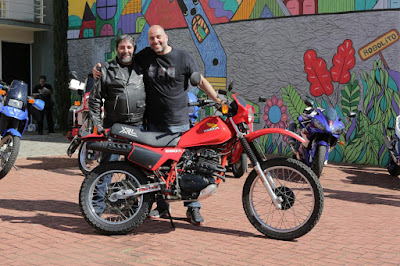 gabriel marazzi e diego rosa motos clássicas 80 - xl250r