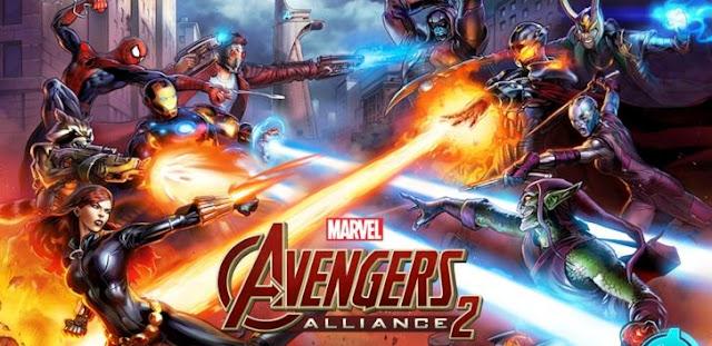 Marvel : Avengers Alliance 2 v.1.4.2 Full APK Mod High Damage + Health