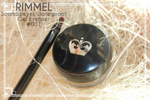 Отзыв: Гелевая подводка для глаз Rimmel Scandaleyes Waterproof gel eyeliner.