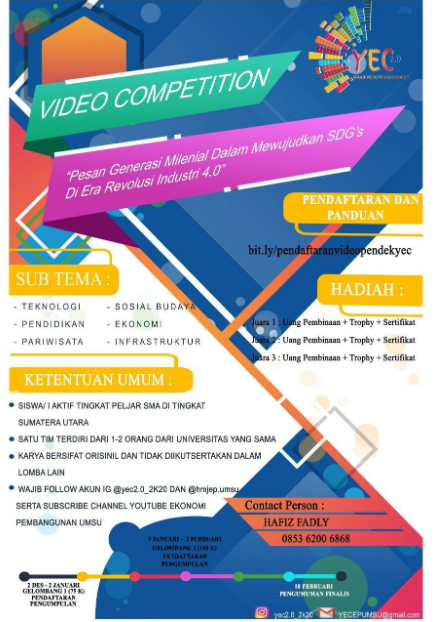 Lomba Video Pendek Pelajar 2020 di UMSU