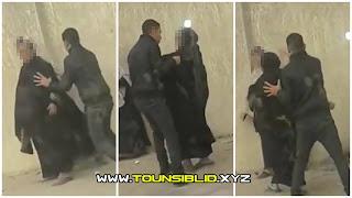 (بالفيديو و الصور) حدائق قرطاج : شاب يعتدي بالعنف الشديد على جدته المسنّة