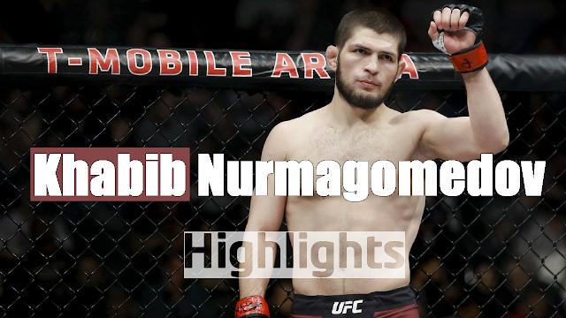 Khabib Nurmagomedov highlights 2018