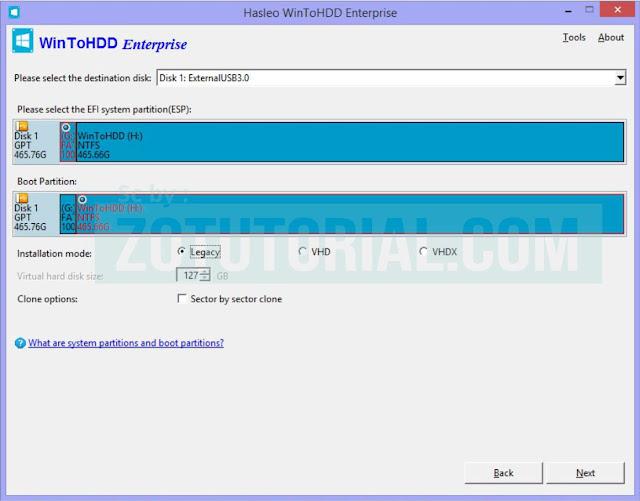 Cara Cloning Hardisk ke SSD dengan WinToHDD Duplikat OS