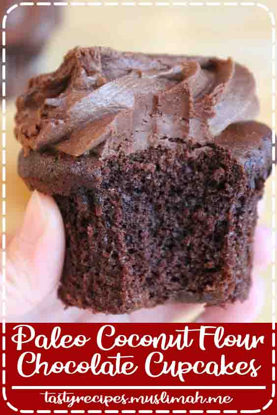 These coconut flour chocolate cupcakes ar soft, downlike and have a delicious chocolate flavor. they're protein free, dairy free, and paleo!    I love with reference to something with chocolate! fortuitously, it's pretty straightforward to create coconut flour chocolate cupcakes style amazing! once creating a direction for vanilla paleo coconut flour cupcakes, i believed I ought to build a chocolate version!    Vanilla cupcakes ar delicious, however if I had to settle on between vanilla or chocolate, my favorite is most definitively chocolate!