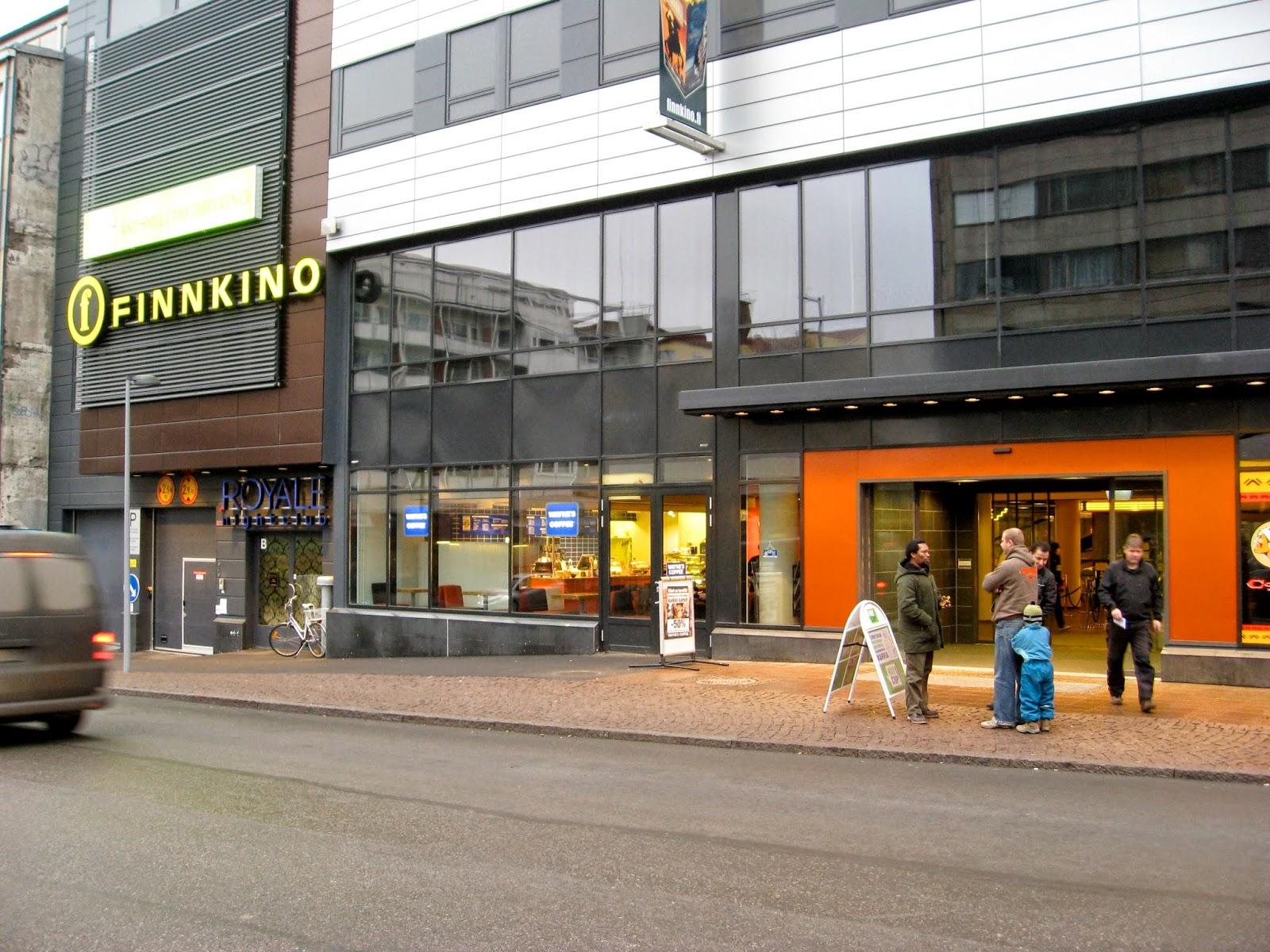Elokuvateattereita: Finnkino Kuvapalatsi