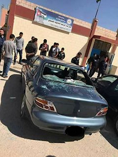 تكسير سيارات المعلمين المرقب الثانوية