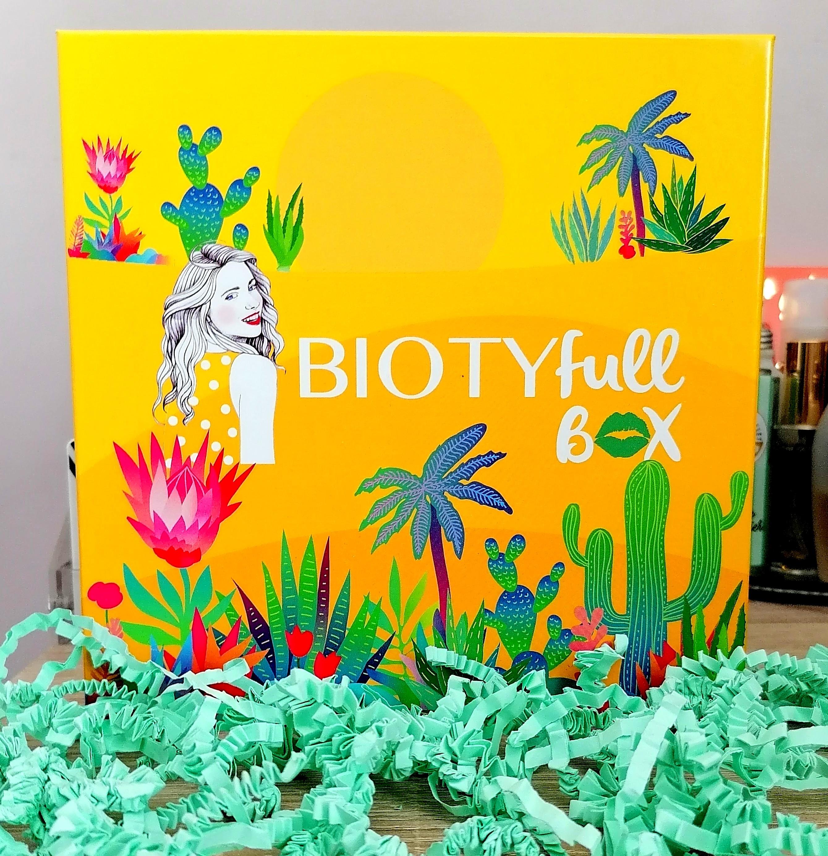 BIOTYFULL BOX Août 2020 : 100% aloe vera!