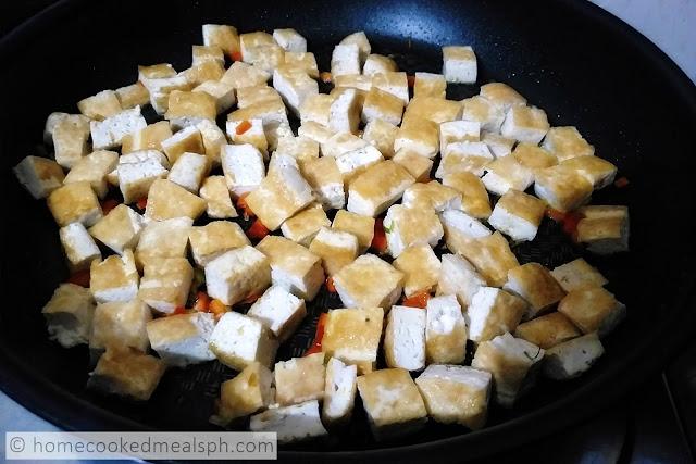 Creamy Tokwa Recipe, easy recipes, recipes, vegan recipes, tokwa,