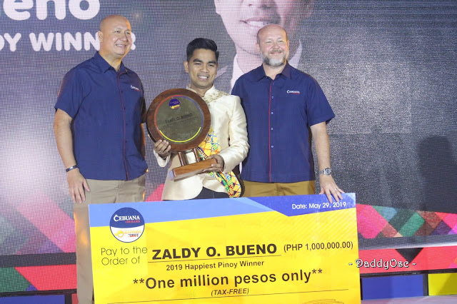 Zaldy Bueno Cebuana Lhuillier's Happiest Pinoy 2019