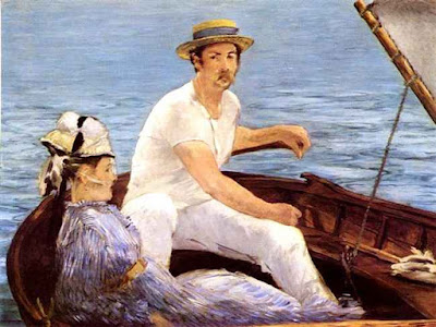 In barca ad Argenteuil - Édouard Manet 1874