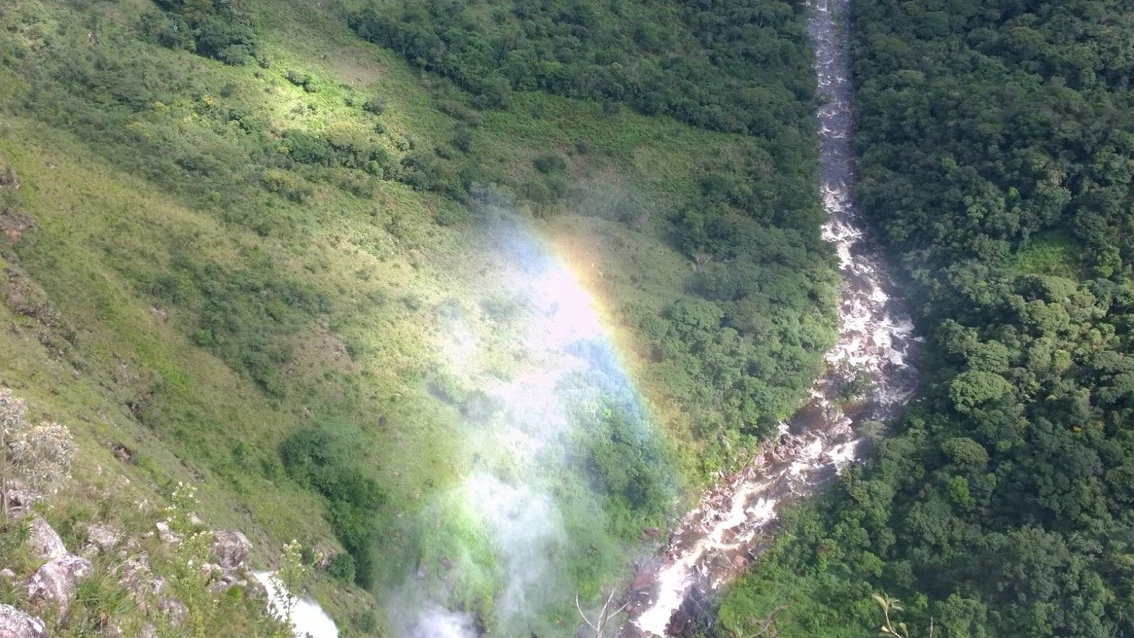 Vista da Casca D'Anta de cima - Parque Nacional da Serra da Canastra-MG