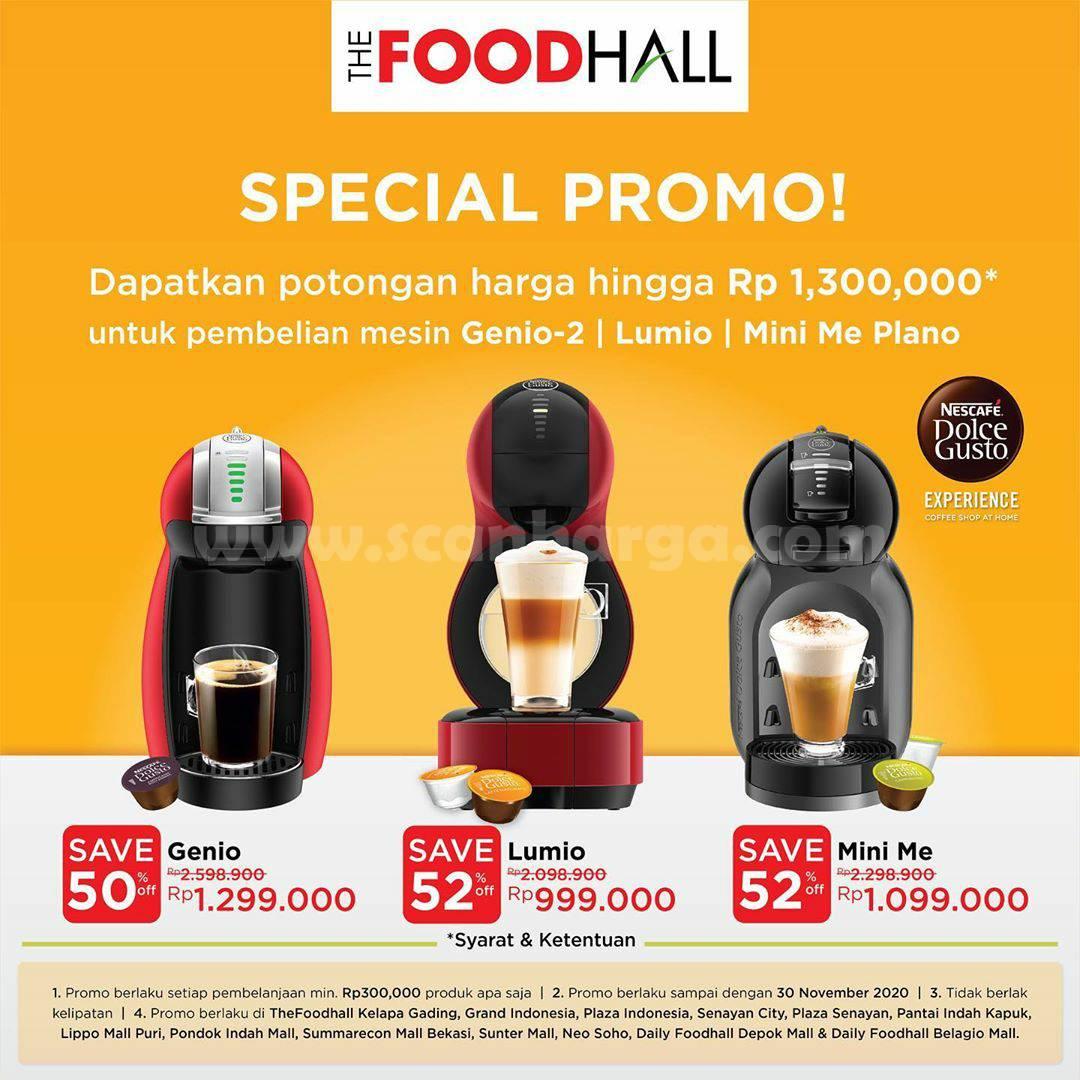 Foodhall Special Promo mesin Genio Lumio dari Nescafe Dolce Gusto