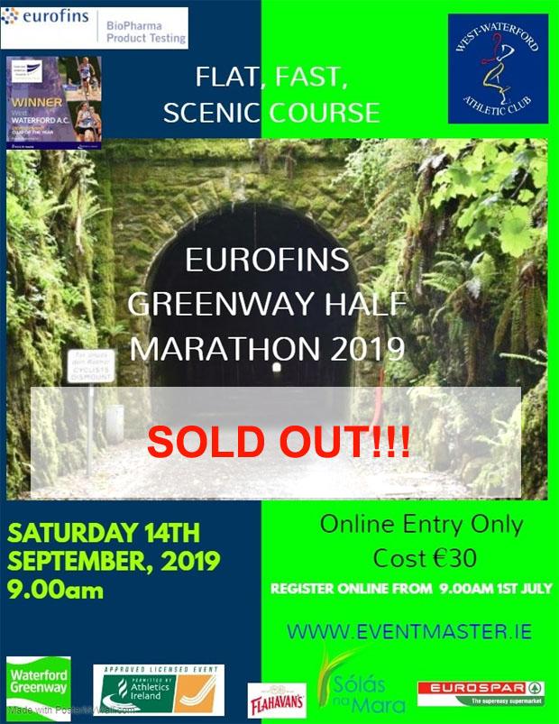 Running in Cork, Ireland: April 2019