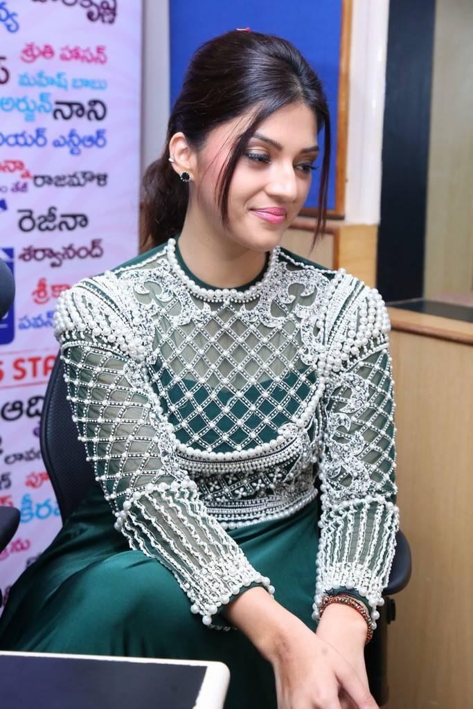 Mehreen Kaur At Mahanubhavudu Song Launch At Radio City Pics