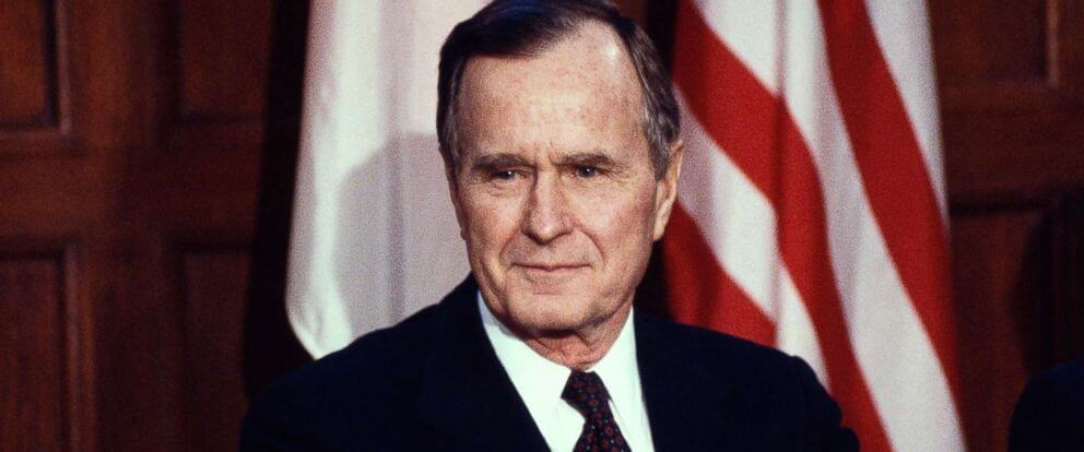 Former US President George H.W. Bush Is Dead At 94