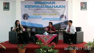 Pacu Mahasiswa Berwirausaha, STIE Putra Bangsa Adakan Seminar Kewirausahaan