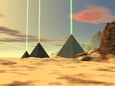 Gigante pirámide de cristal descubierto en el Triángulo de las Bermudas