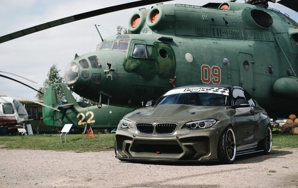 HGK BMW M2 F22 Eurofighter