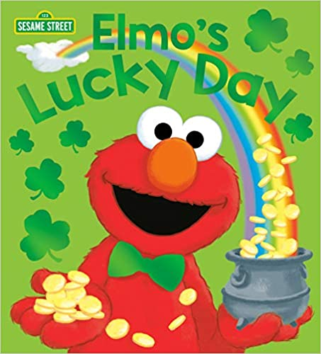 Elmo's Lucky Day (Sesame Street) (Sesame Street Board Books) St. Patrick's Day  book