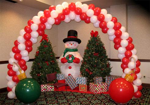 sewa kostum santa clause: dekorasi natal