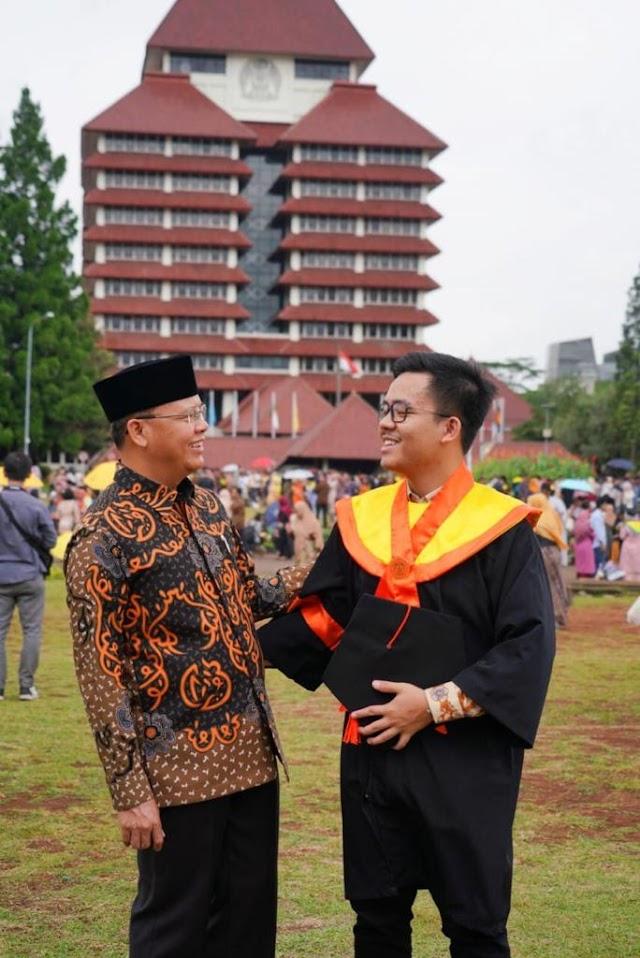 Kesederhanaan Fachry Putra Rohidin Mersyah Mirip Anak Jokowi