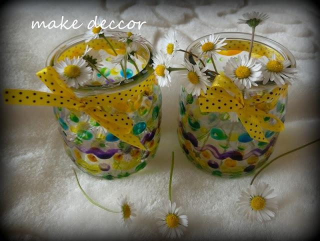 Mini słoiczki na mini kwiatki