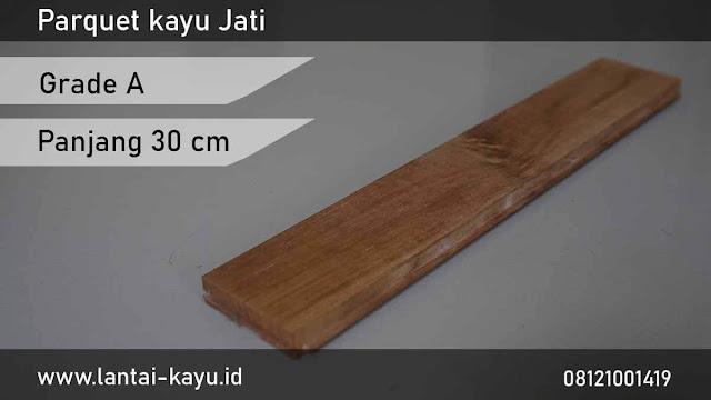 harga Jual lantai kayu Jati grade A