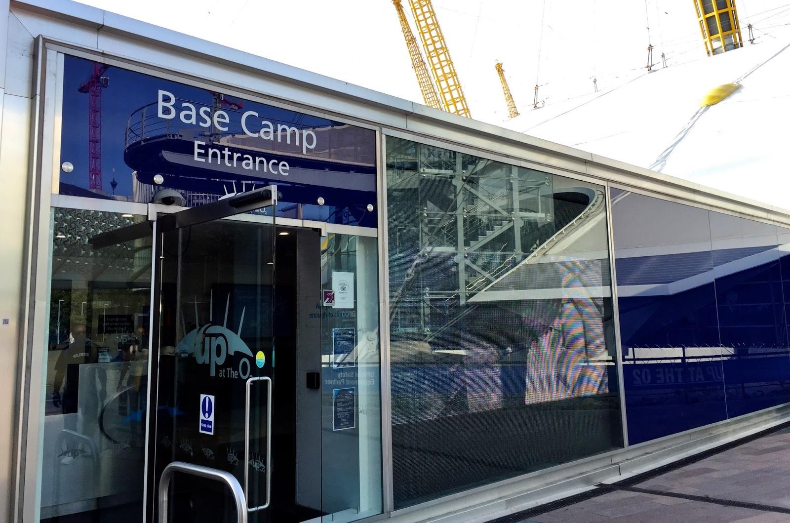 Basecamp at Up at the O2 London