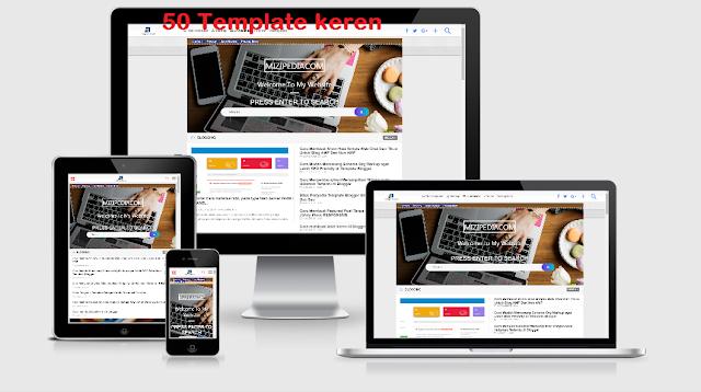 Download 50 Template Blog Keren dan SEO Friendly