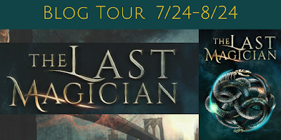 The Last Magician Blog Tour banner