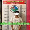 Satuan  Reserse Narkoba Polres Wajo Menangkap Terduga Pengedar Narkotika dari Tanasitolo