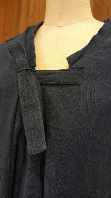 COSMIC WONDER【コズミックワンダー】手紡ぎ木綿のシャツワンピース