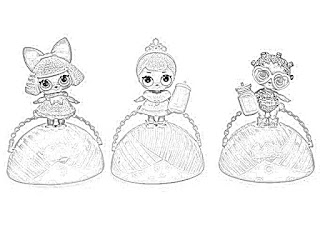 LOL Surprise! dolls coloring pages holiday.filminspector.com