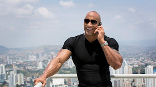 Hollywood tallest actors The Rock Dwayne Johnson