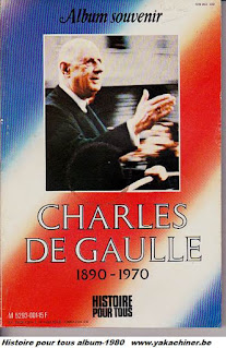 album Souvenir Charles De Gaulle