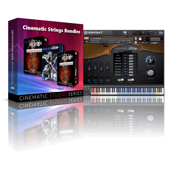 Cinematic Strings Bundles KONTAKT Library