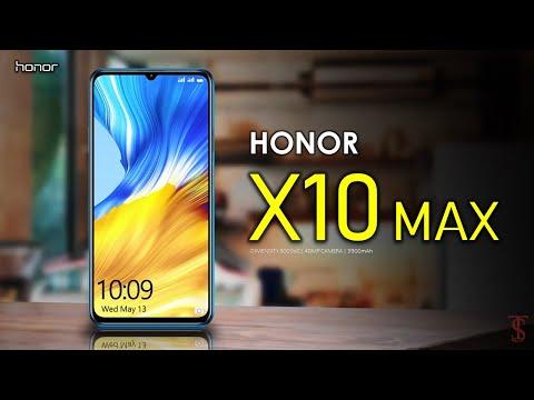 هواوي تكشف الستار قريبا عن هاتفها الجديد Honor X10 Max بشاشة كبيرة ومواصفات فائقة