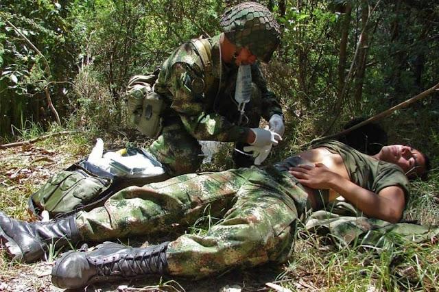 FRONTERA: Cinco soldados heridos saldo preliminar de ataque con explosivos en Fortul en Colombia.