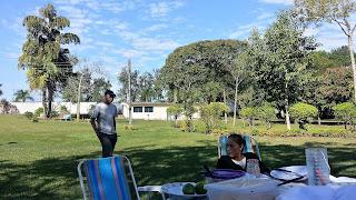 Camping no Parque Municipal Santa Rita Passa Quatro