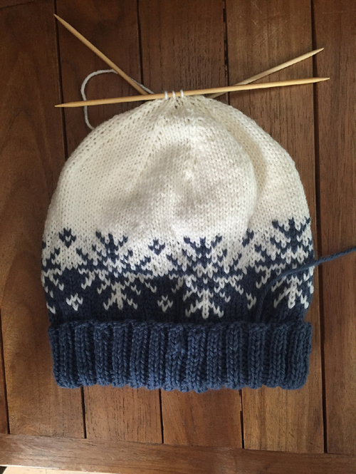 Winterstorm Hat - Knitting Pattern