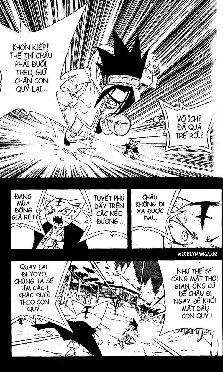 Shaman King [Vua pháp thuật] chap 173 trang 17