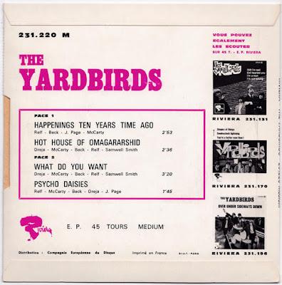 The Yardbirds EP Collection (FR) 1965-66 (Flac + Mp3)