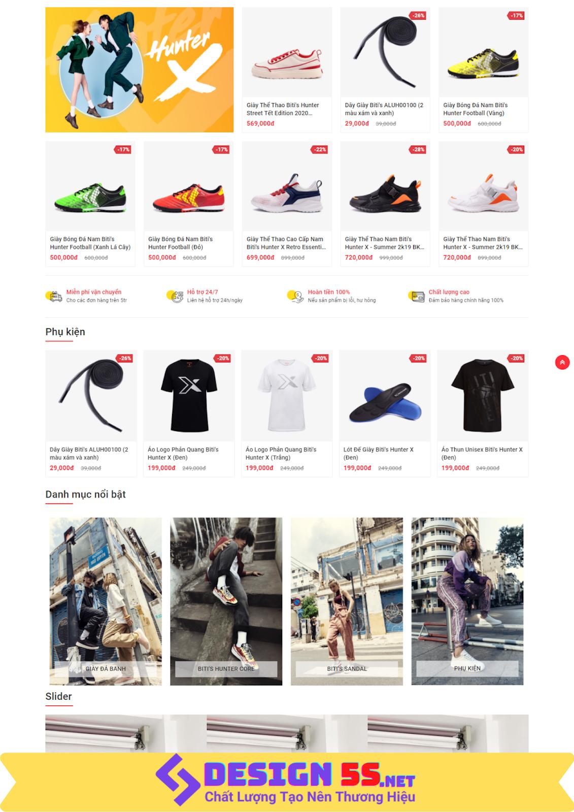 Template blogspot bán giày Ant Shoe Shop tuyệt đẹp VSM15 - Ảnh 2